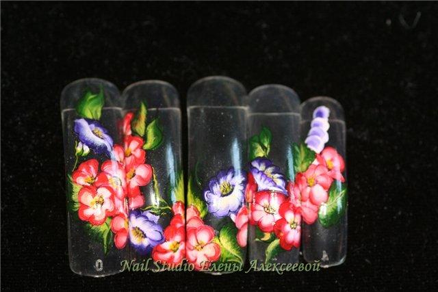 Фотографии интересных дизайнов ногтей Db5b0510