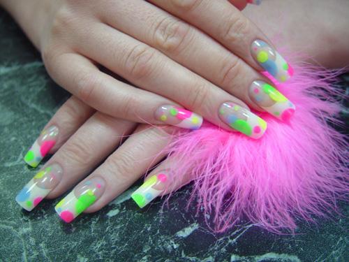 Фотографии интересных дизайнов ногтей French11