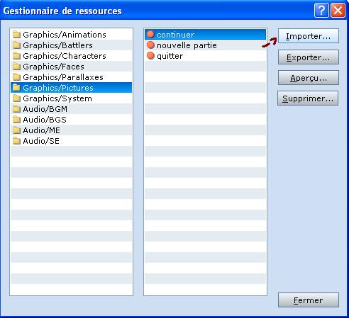 Créer un écran-titre en évent Tuto0210