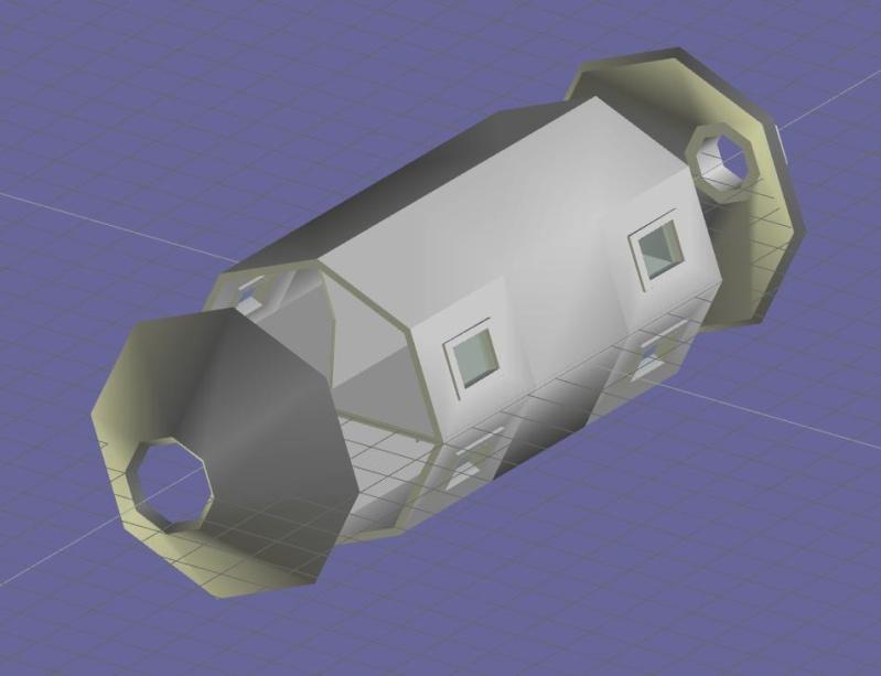 Progettazione Stazione Spaziale Italiana Modulo10