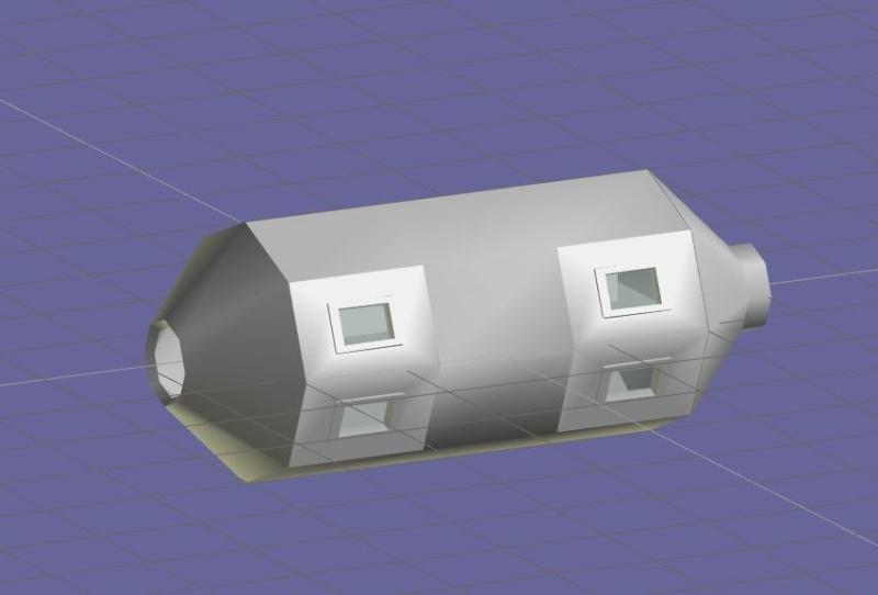 Progettazione Stazione Spaziale Italiana Modulo11