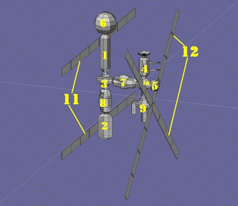 Progettazione Stazione Spaziale Italiana Schizz10