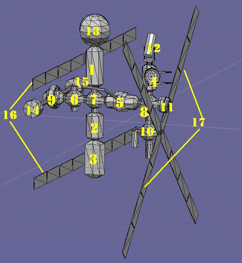 Progettazione Stazione Spaziale Italiana Schizz11