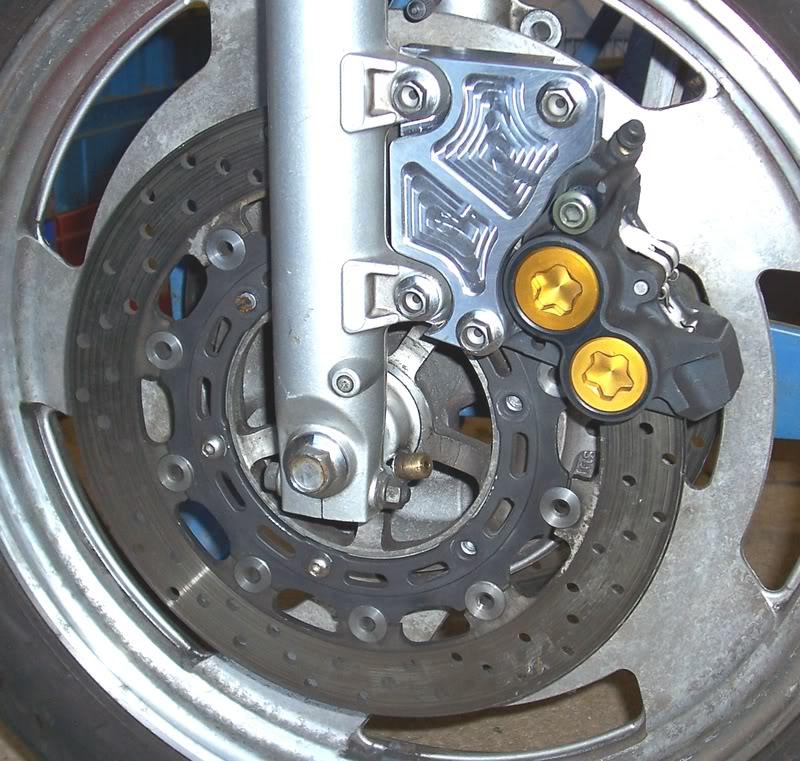 Optimisation du frein avant d'une mémère de 86 R1fron10