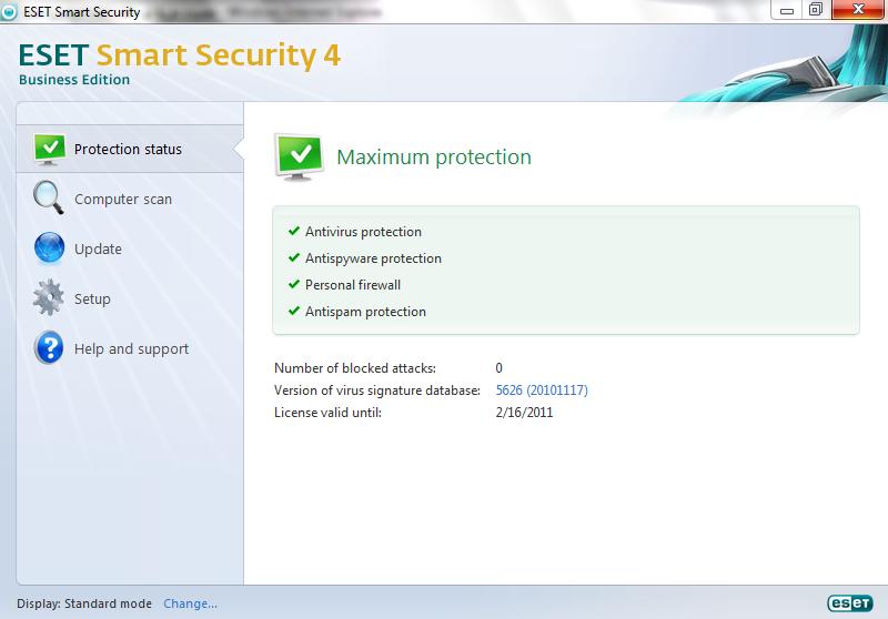 حصريا عملاق الحماية الأول عالميا Nod32 Antivirus 4.2.67.10 بالإصدار ال Business Edition بإصداريه Internet Security / Antivirus على أكثر من سيرفر  Dd16