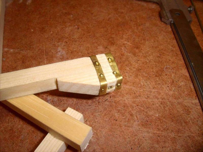 Trebuchet in 1/25 aus Holz Lpic3920