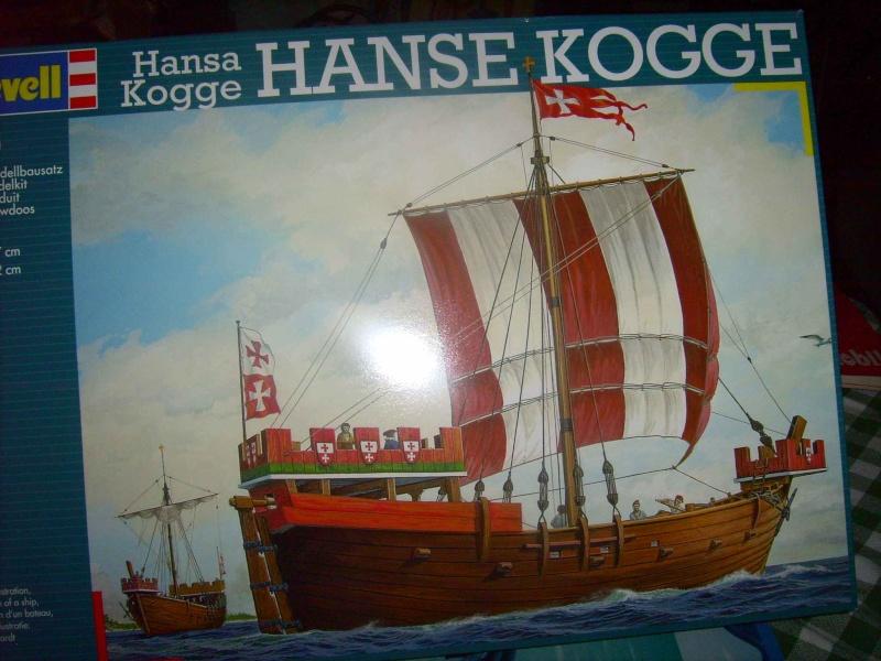 Hanse Kogge in 1/72 von Revell Lpic5213