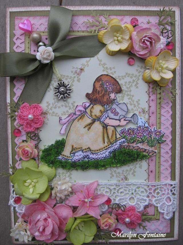 14 mars! Carte avec Flower Soft 00217