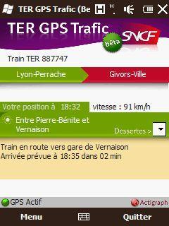 [SOFT] TER GPS TRAFIC : Informations en temps réel sur votre train [Gratuit] 01180010