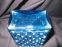 Frank Thrower? blue molded glass 03510