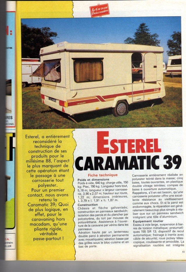 Caramatic et supermatic toutes versions .... Estere12