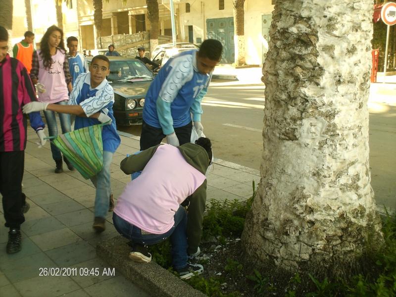 نادي البيئة في حملة تحسيسية 01610