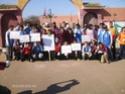 نادي البيئة في حملة تحسيسية 01110