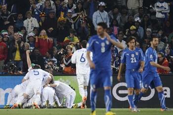Eslovaquia dinamita el Mundial y elimina a Italia en el mejor partido del torneo Itade210