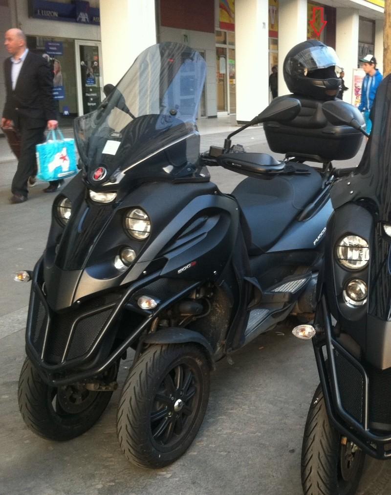Choix d'un Top Case pour mon scooter 3 roues Fufu210