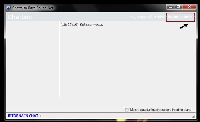 CHAT: Come chattare su RSN tramite Fanta Dream Manager Conne10