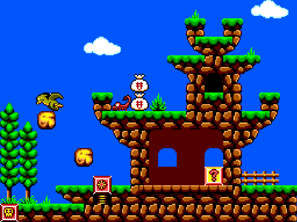 Alex Kidd 2: Curse in Miracle World - Page 35 Level_10