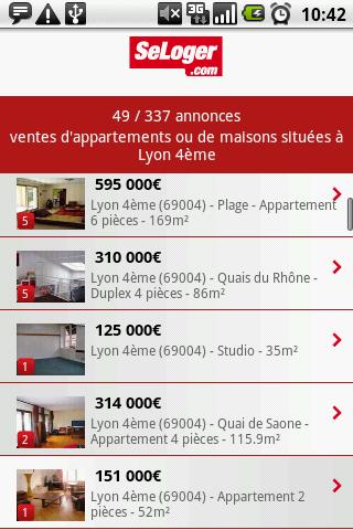 [SOFT] SELOGER.COM : Application pour trouver un logement [Gratuit] Seloge11