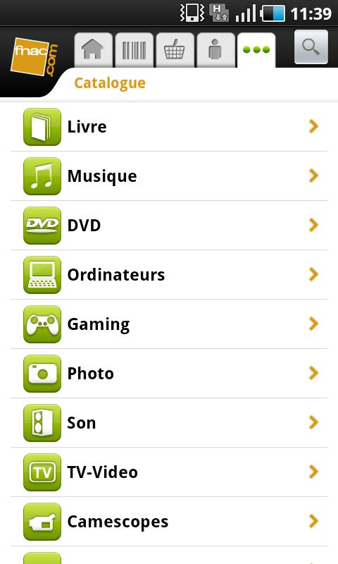[SOFT] FNAC.COM : L'application officiel de la Fnac [Gratuit] Ss-1-310