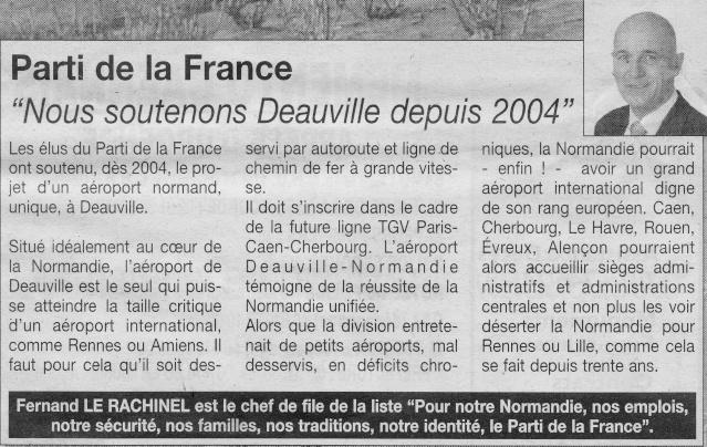 Parti de la France : une Normandie et un TGV Articl11