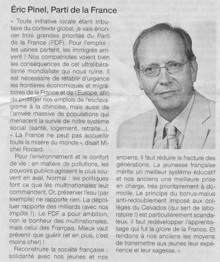 Liste des candidats du PDF cantonales 2011 Pinel-10