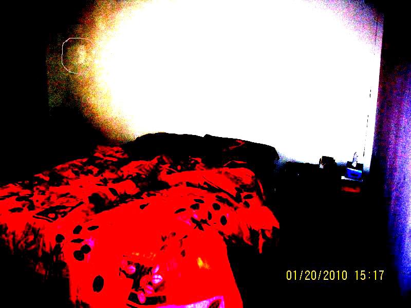 Photo d'un visage dans un orbe Photo-12