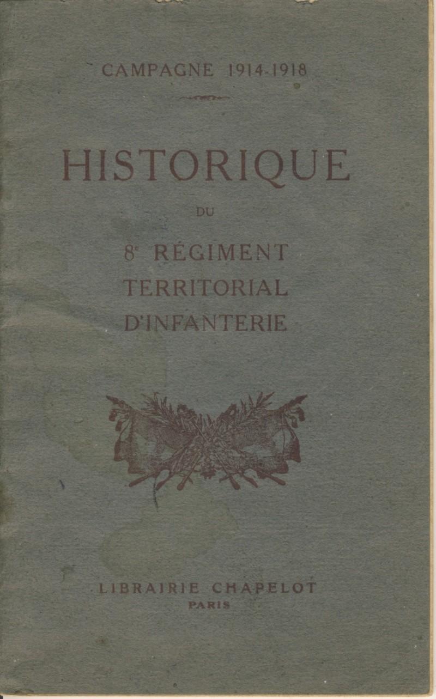 Historiques des armées 8emert10
