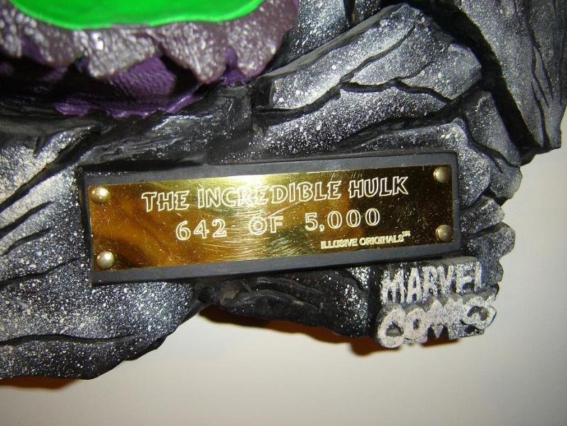 ILLUSIVE ORIGINALS : Hulk wall plaque  2010_114