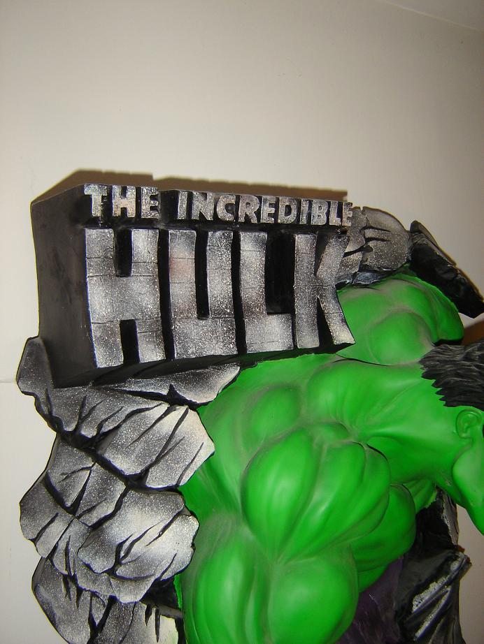 ILLUSIVE ORIGINALS : Hulk wall plaque  2010_115