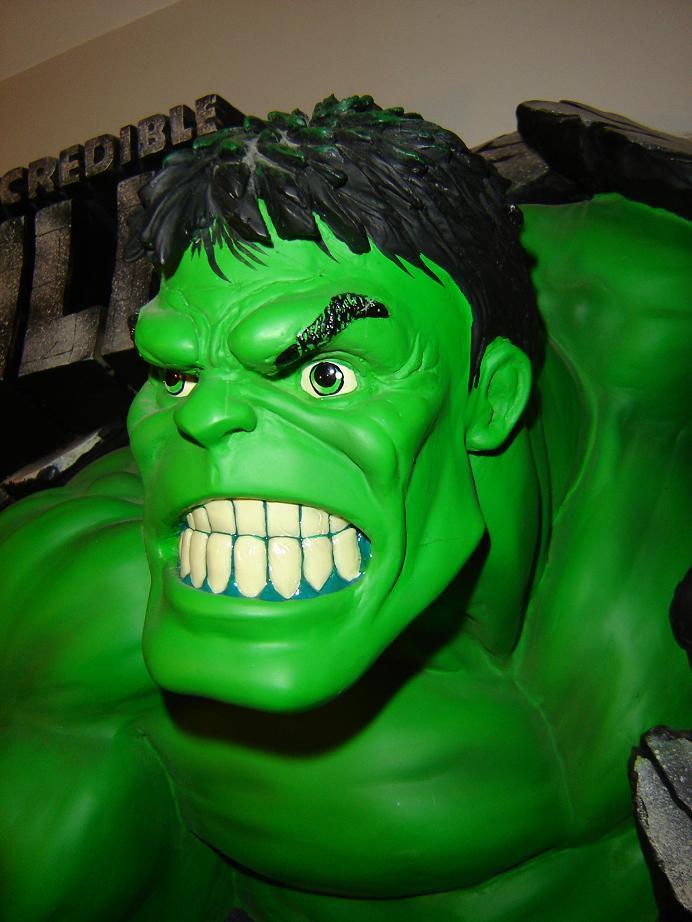 ILLUSIVE ORIGINALS : Hulk wall plaque  2010_116