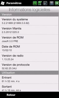 [ROM WM 6.5] [FR] Josoft 3.1 (Sense 2.5) [Build 21869] 310