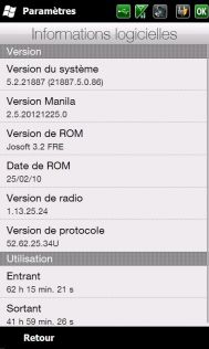 [ROM WM 6.5] [FR] Josoft 3.5 (Sense 2.5) [Build 21887] 413