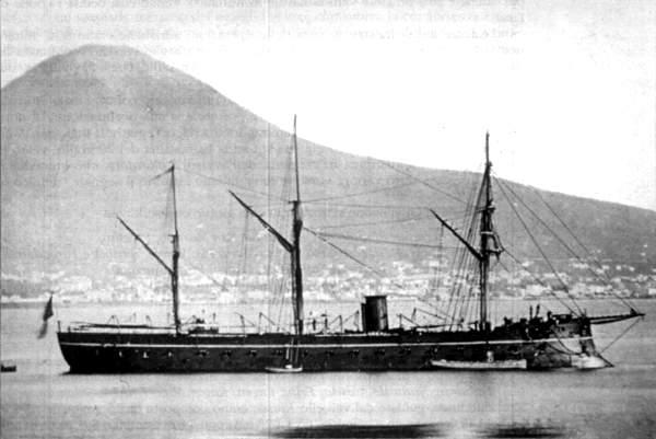 Pirofregata Regina Maria Pia - 1862 N0622-13