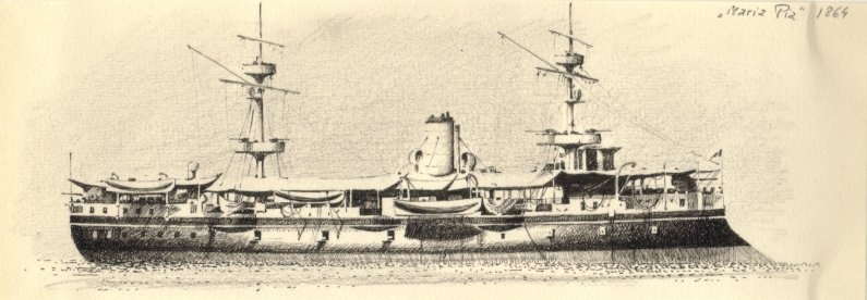 Pirofregata Regina Maria Pia - 1862 Untitl10