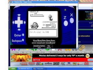 gameboy games and super nintendo games on the internet?!?! its like the XboxLIVE gameroom! Pokemo10