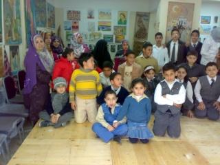 زيارة بعض مدارس المحافظة لمدرستنا 2009-2010 20100333