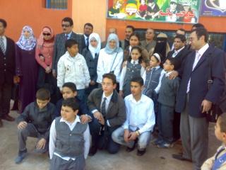 زيارة بعض مدارس المحافظة لمدرستنا 2009-2010 20100336