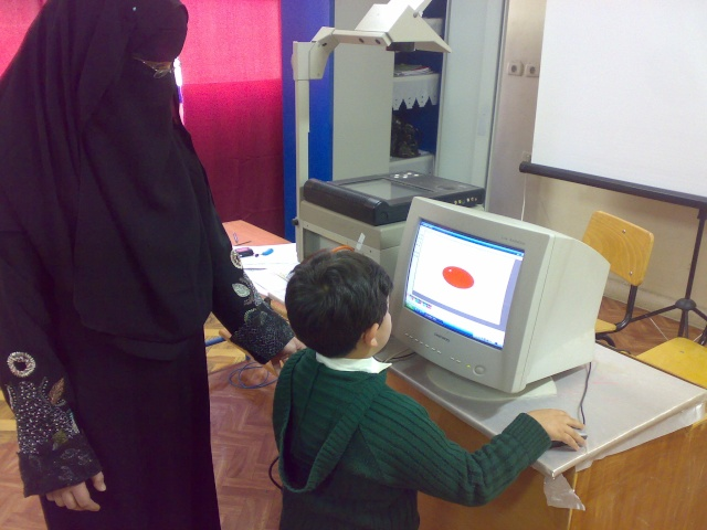 فصول رياض الأطفال والكمبيوتر 20110315