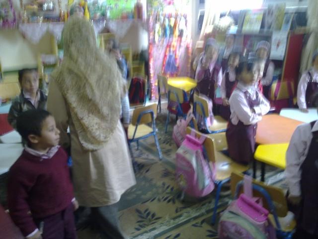 زيارة مدرسة كفر شكر التجريبية لغات  23032012