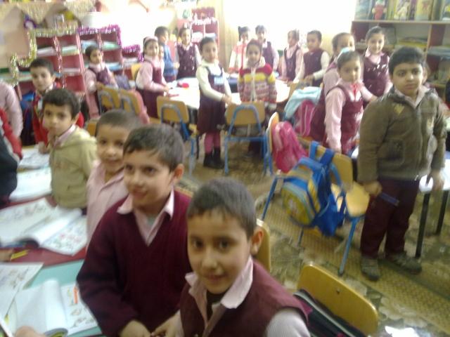 زيارة مدرسة كفر شكر التجريبية لغات  23032014