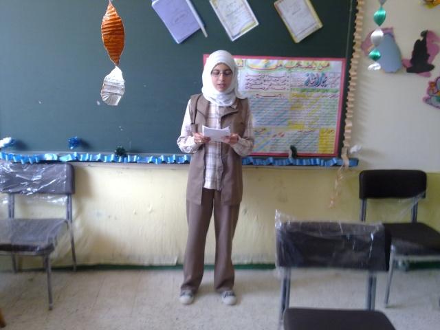 زيارة مدرسة كفر شكر التجريبية لغات  23032016