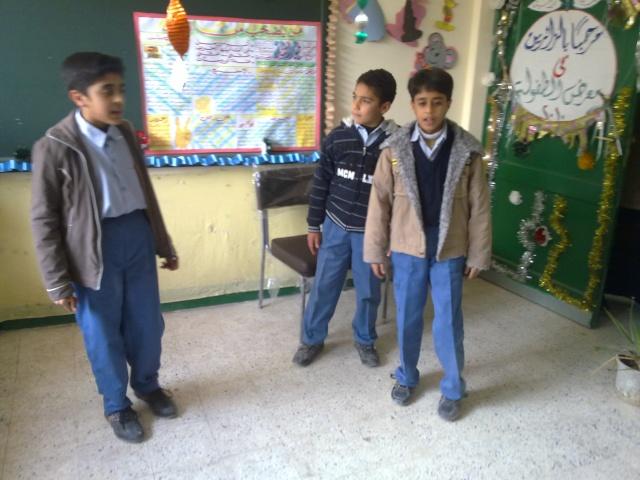 زيارة مدرسة كفر شكر التجريبية لغات  23032017