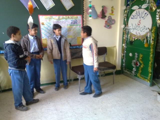 زيارة مدرسة كفر شكر التجريبية لغات  23032018