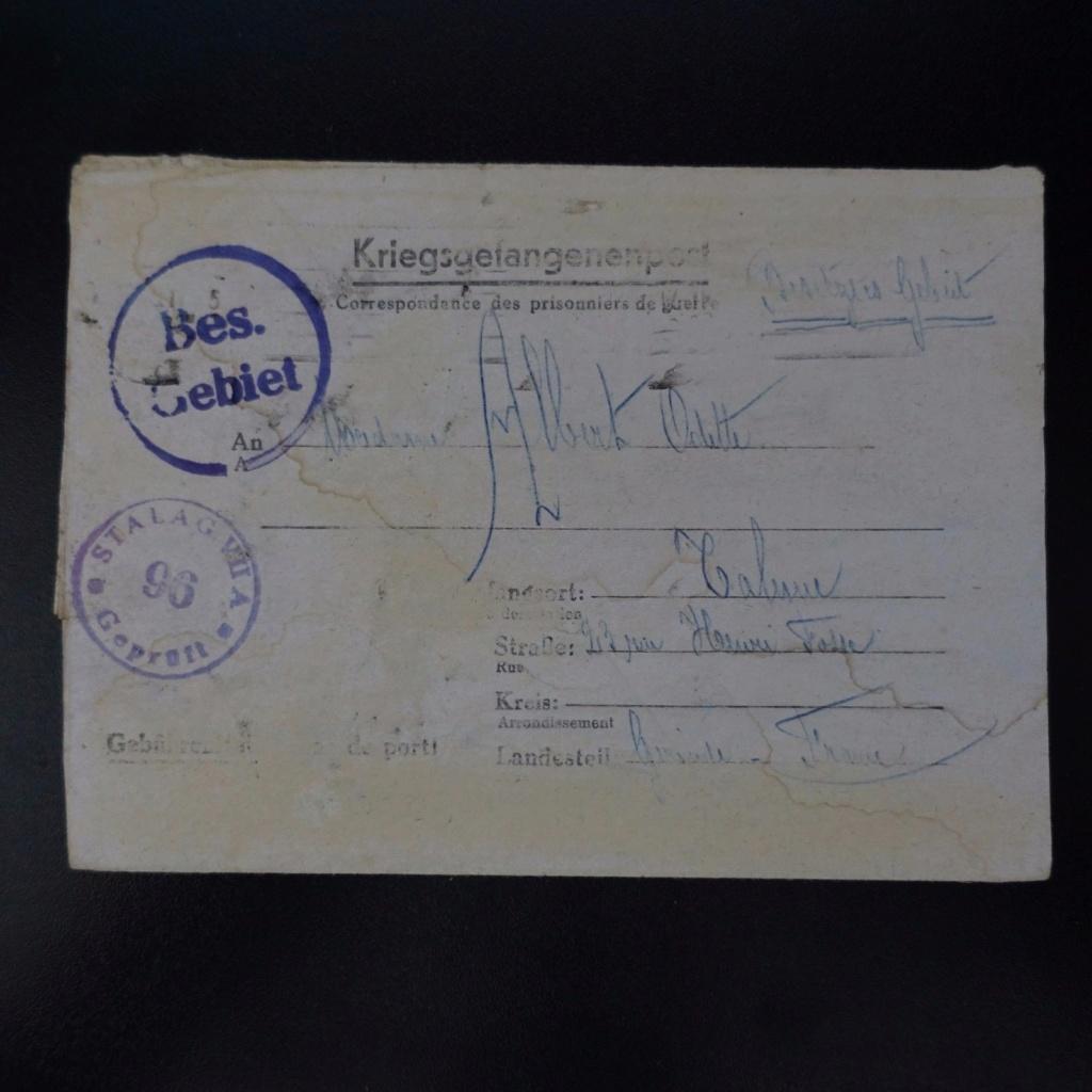 courrier depuis Stalag VII A à destination de Talence Stalag10