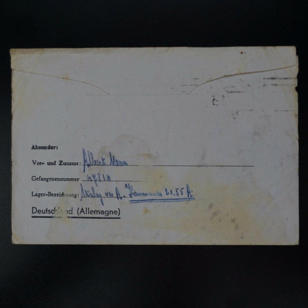courrier depuis Stalag VII A à destination de Talence Stalag11