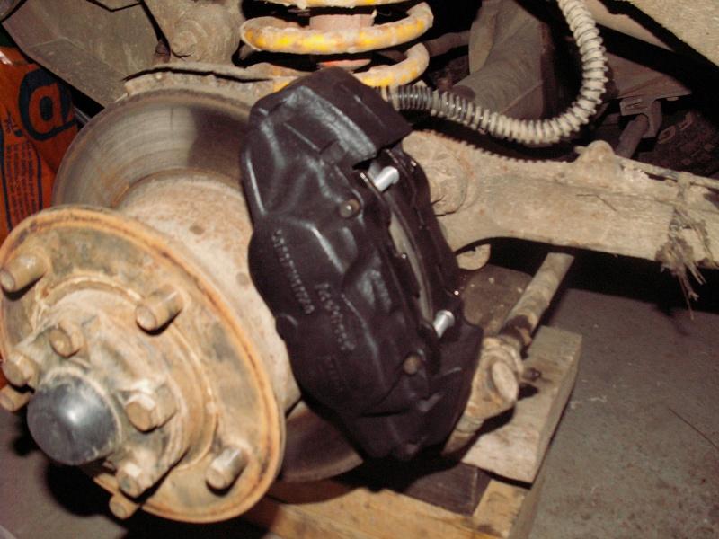 Remise en état des étriers de frein AV de Defender Etrier13