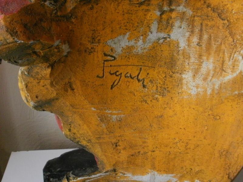 buste vache qui rit signé P2200013