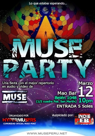 MUSE PARTY!!!!! Musepa10