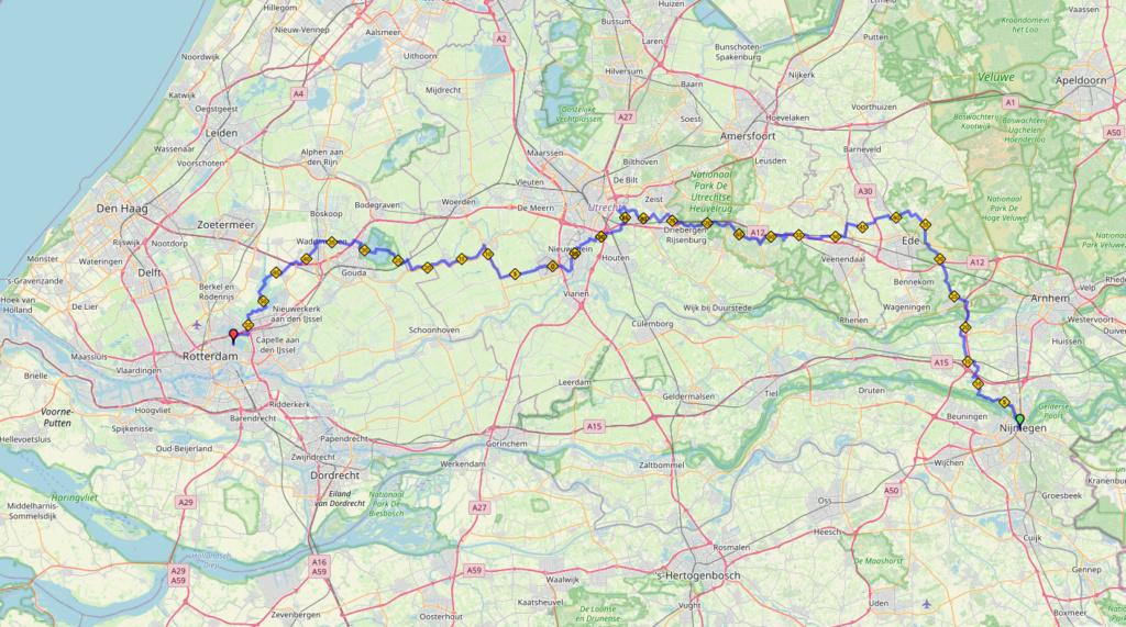 Nimègue-Rotterdam 160km 19-20 sept 2020 ANNULÉ  Nijmeg10