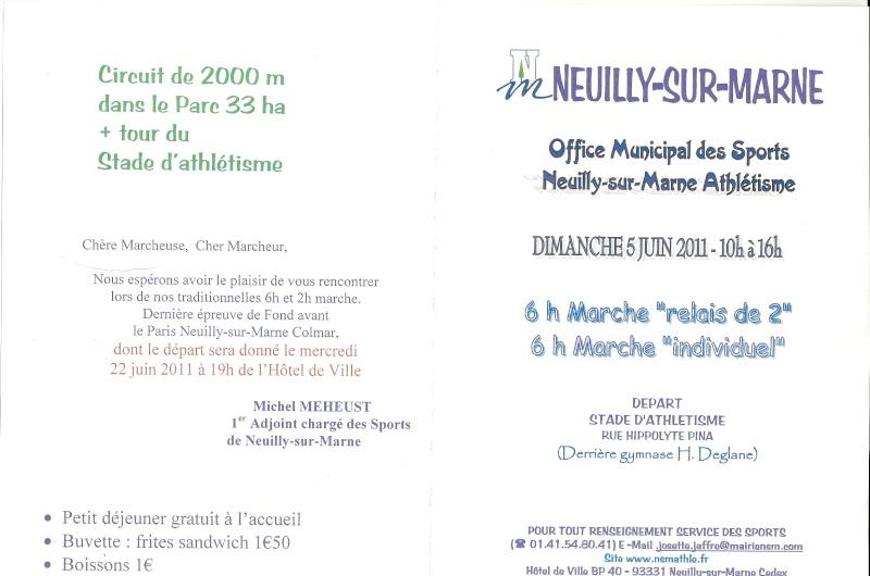 6 h marche de Neuilly-sur-Marne: 5 juin 2011 Numari14